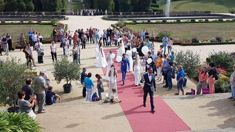 Hochzeit DJ Sachsen Hochzeitsmesse Barockgarten Grosssedlitz 2019 - Bild 15
