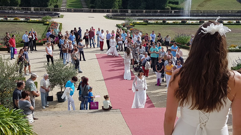 Hochzeitsmesse 2019 im Barockgarten Großsedlitz